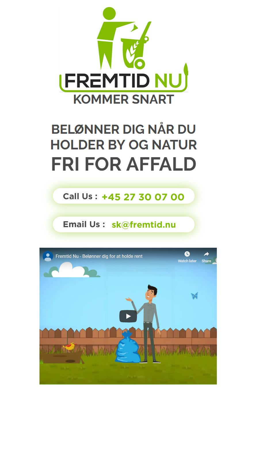"""Intrarea #4 pentru concursul """"Landing page to collect mobile phone number"""""""