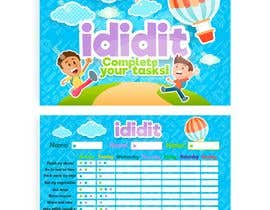 #27 for Design a kids reward chart in a3 size by Marcoslanister