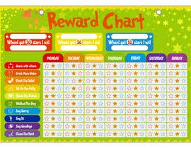 #12 for Design a kids reward chart in a3 size af graphicshero