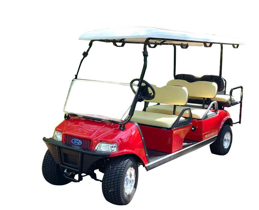 Contest Entry #7 for photoshop changes to golf cart