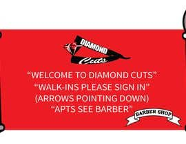 #4 for barber shop sign in poster by qurat255