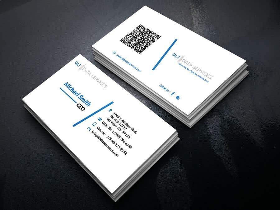 Kilpailutyö #601 kilpailussa Create business card