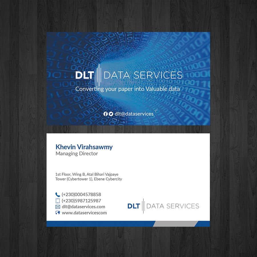 Kilpailutyö #161 kilpailussa Create business card