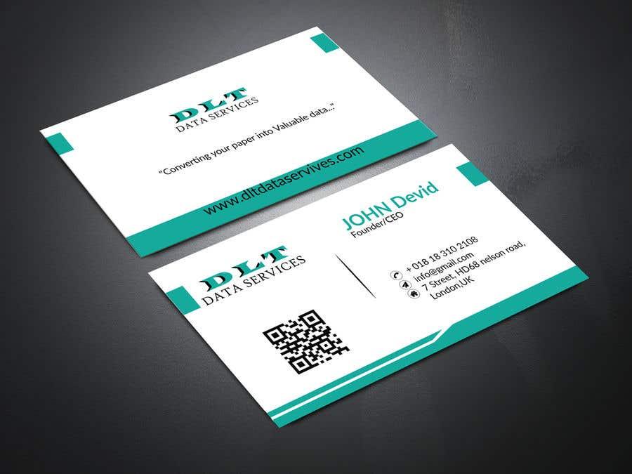 Kilpailutyö #567 kilpailussa Create business card