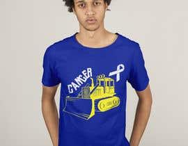 #50 for Beat Cancer shirt design af HashamRafiq2