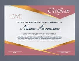 #2 for design a love certificate template with my logo af adesigngr