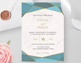 #125 para design of wedding invitations por EliteVision