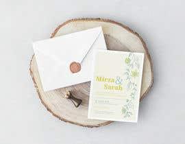 #129 for design of wedding invitations by andrewashraf03