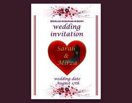#121 for design of wedding invitations by nicesusomaakter
