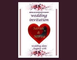 #121 para design of wedding invitations por nicesusomaakter
