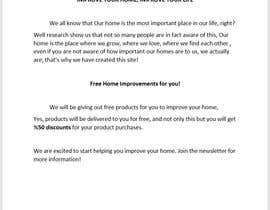 #1 for Landing page text (Collecting emails for newsletter) for blog about home improvement by cagdasilhan