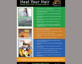 #24 for Poster design for wellcure - Heal Your Hair by xuantinh