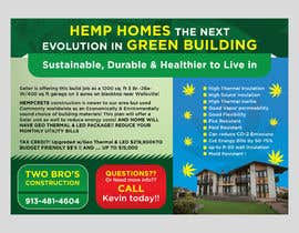 #63 pentru Professional Flyer - for Hemp House de către mylogodesign1990