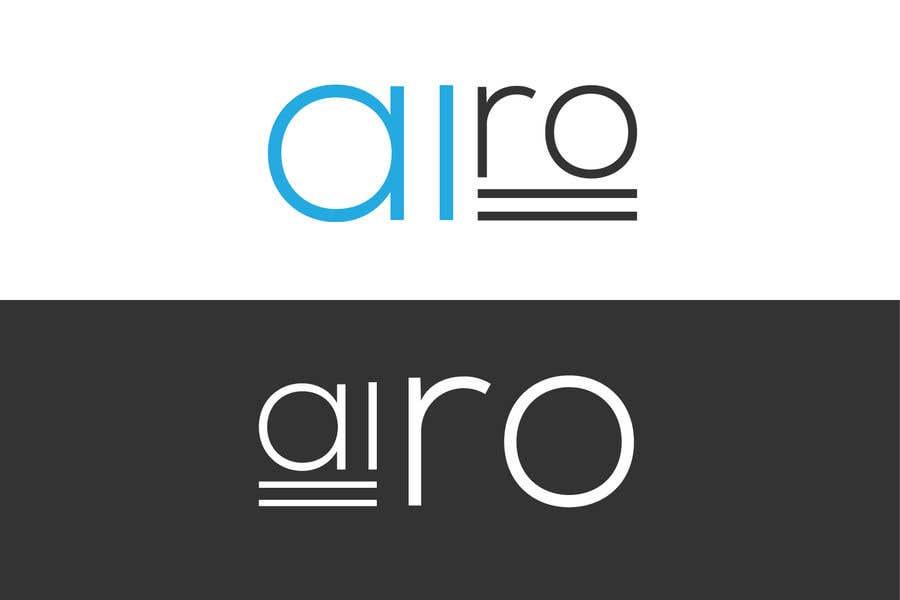 Bài tham dự cuộc thi #51 cho Logo for Airo