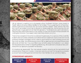 #37 para Need Fundraising Flyer Created de moslehu13