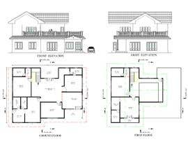 #24 for Draw colonial elevation for a floor plan by royce1101