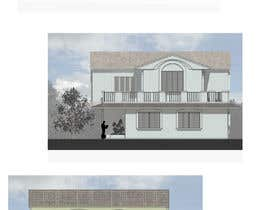 nº 28 pour Draw colonial elevation for a floor plan par jairandresrmz