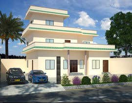 nº 1 pour Draw colonial elevation for a floor plan par MAsadfs