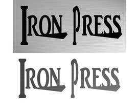 #139 para Logo Design for IronPress de amberlyartiste