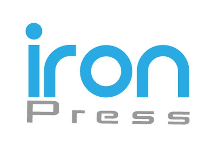 #14. pályamű a(z)  Logo Design for IronPress versenyre