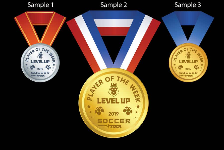 Proposition n°14 du concours URGENT Need medal design for player of the week