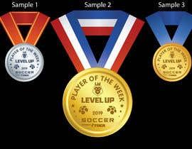 #14 para URGENT Need medal design for player of the week por sandyvfx07