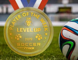 #17 para URGENT Need medal design for player of the week por sandyvfx07