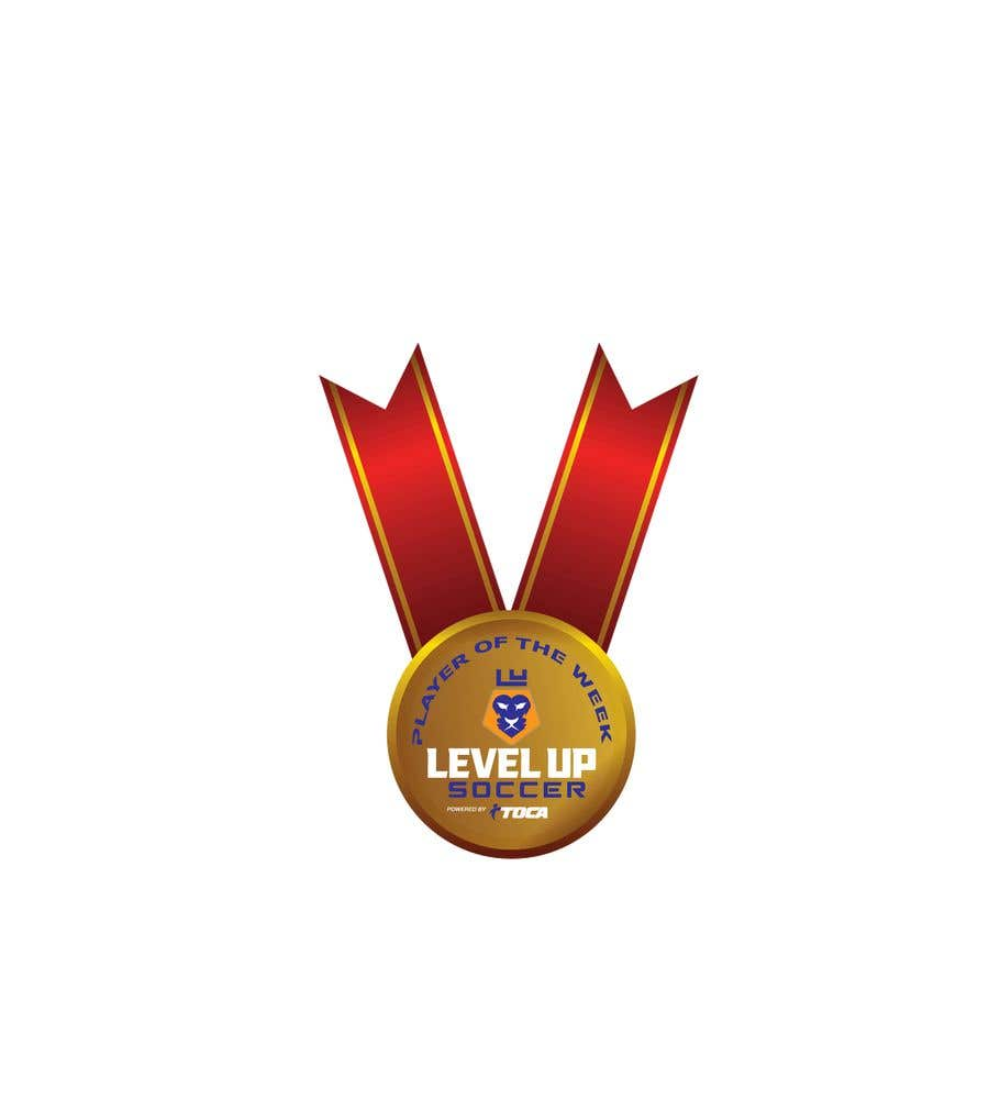 Proposition n°30 du concours URGENT Need medal design for player of the week