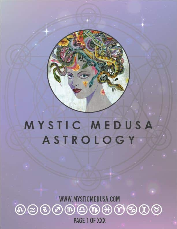 Penyertaan Peraduan #1 untuk Astrology Report Re Design