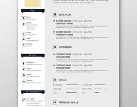 #14 para 5 pdf CV templates/designs for 5 websites por SLP2008