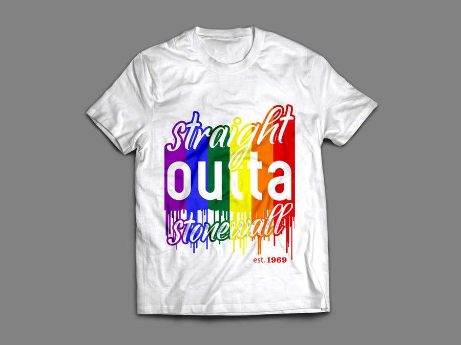 Contest Entry #54 for ATTENTION ARTISTS: Need a cool t shirt designed for a gay pride event