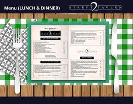 #15 for Menu Design Restaurant (Lunch & Dinner) by momotamumu11