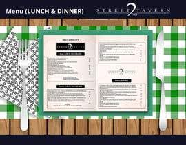 #15 for Menu Design Restaurant (Lunch & Dinner) af momotamumu11