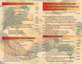 #13 for Menu Design Restaurant (Lunch & Dinner) af freelancerjahid4