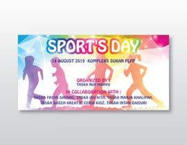 Nro 17 kilpailuun Sports Banner käyttäjältä MOMODart