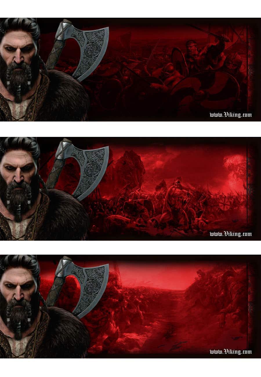 Proposition n°192 du concours Viking Banner (Facebook&Website)