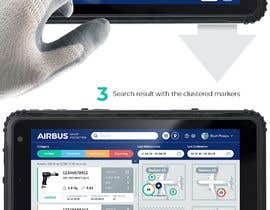 #238 для Mockup an aerospace app for Airbus! от uvarovkv