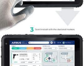 #239 для Mockup an aerospace app for Airbus! от uvarovkv