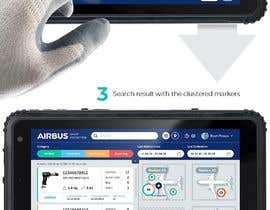#240 для Mockup an aerospace app for Airbus! от uvarovkv