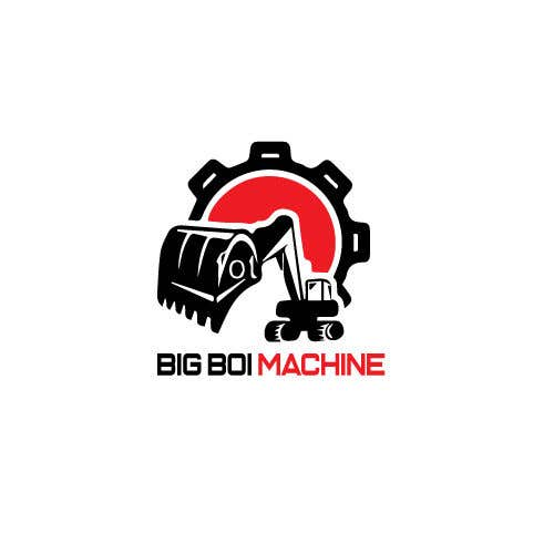 """Konkurrenceindlæg #8 for I have just started an excavation hire business and I need a logo designed for it. I'm looking for a new creative modern design rather than the standard 'run of the mill' logo.   The business name is """"Big Boi Machines""""."""