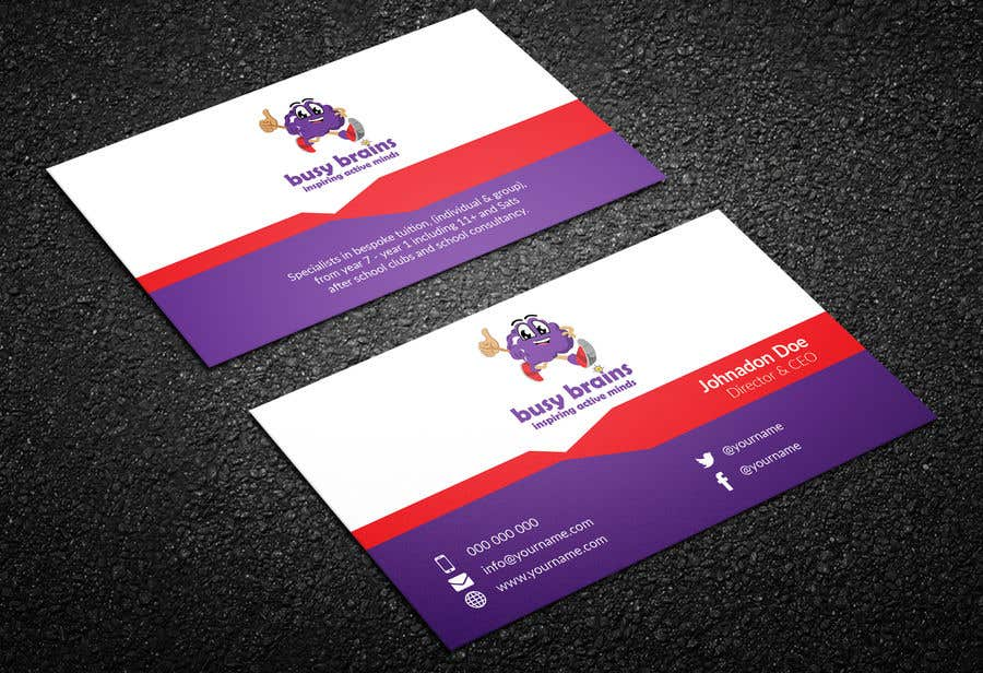 Contest Entry #96 for Create a Business card