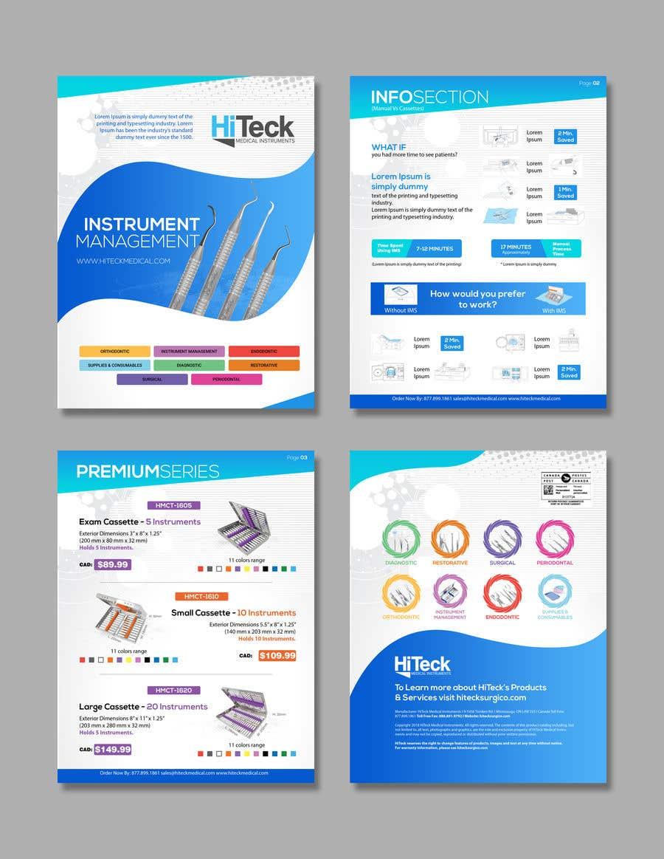 Конкурсная заявка №23 для Design Catalog Page template