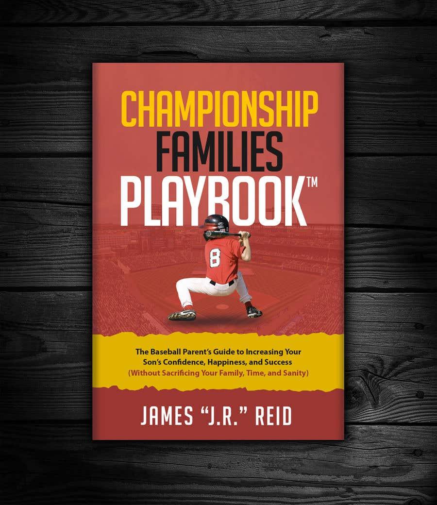 Kilpailutyö #38 kilpailussa Book mockup for the Championship Families Playbook™