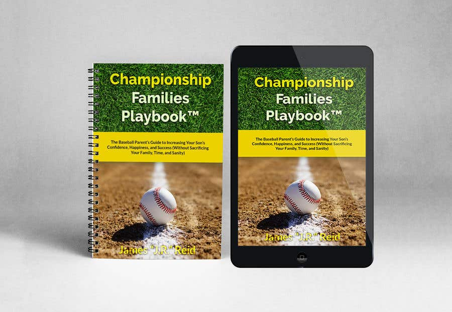 Penyertaan Peraduan #16 untuk Book mockup for the Championship Families Playbook™
