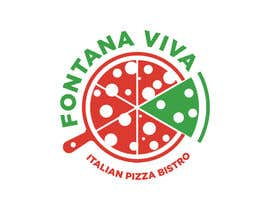 """#22 cho """"fontana viva italian pizza bistro"""" is restutant name, i want to make led gkoe sign board, for that you havr to design some illustration/design (fontana viva is name of my restutant) bởi zouhairgfx"""