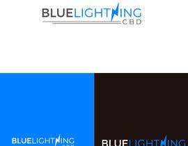 #297 for Blue lightning cbd logo by Miad1234