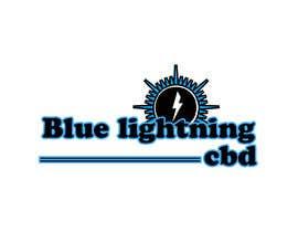 #302 for Blue lightning cbd logo by anubegum
