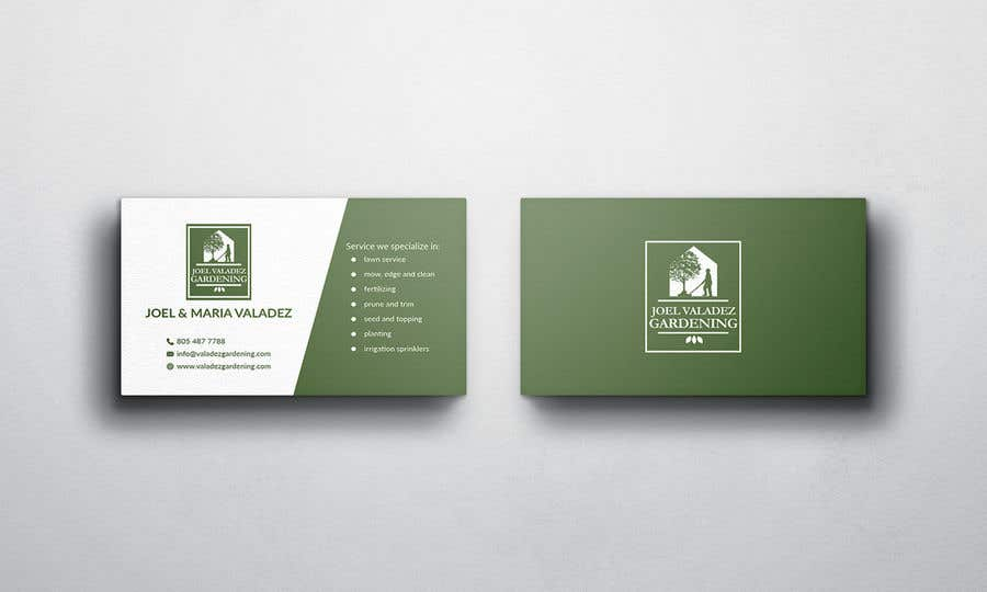 Proposition n°54 du concours Revamp Business Card for Landscaping/Gardening Service Provider