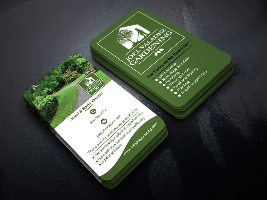 Proposition n°154 du concours Revamp Business Card for Landscaping/Gardening Service Provider