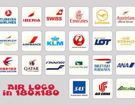 #12 for Realizzazione loghi compagnie aeree 180x180 by saurov2012urov